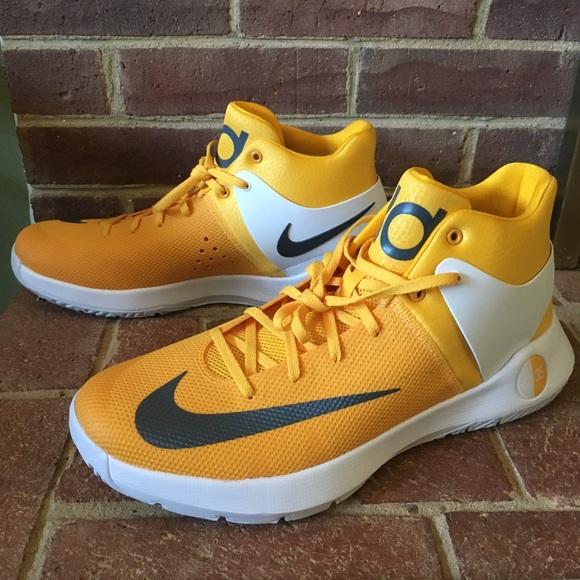 sports shoes f59b2 03209 ... switzerland nwob nike zoom kd trey 5 iv yellow basketball shoe d8282  c35bc
